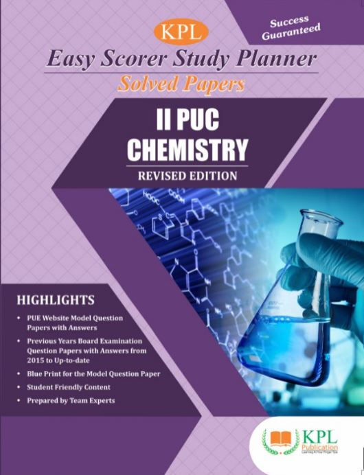 II PUC CHEMISTRY SOLVED PAPERS